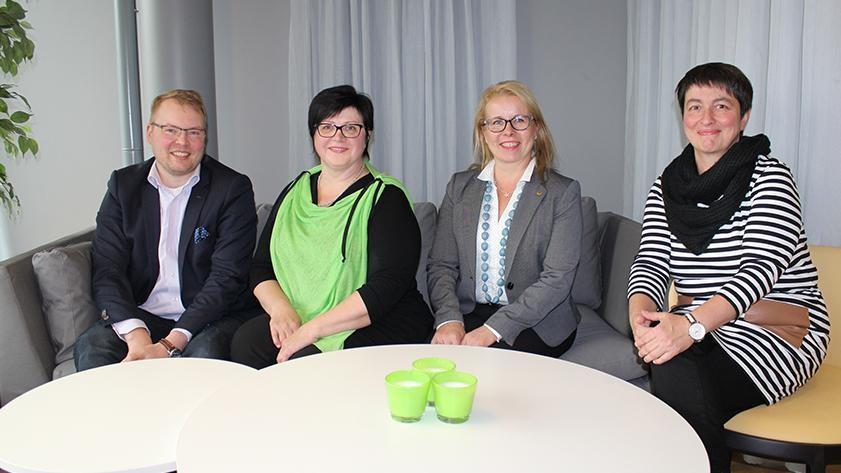 Maatilan yritysneuvojan valmennus pankkineuvojille POP Pankissa.