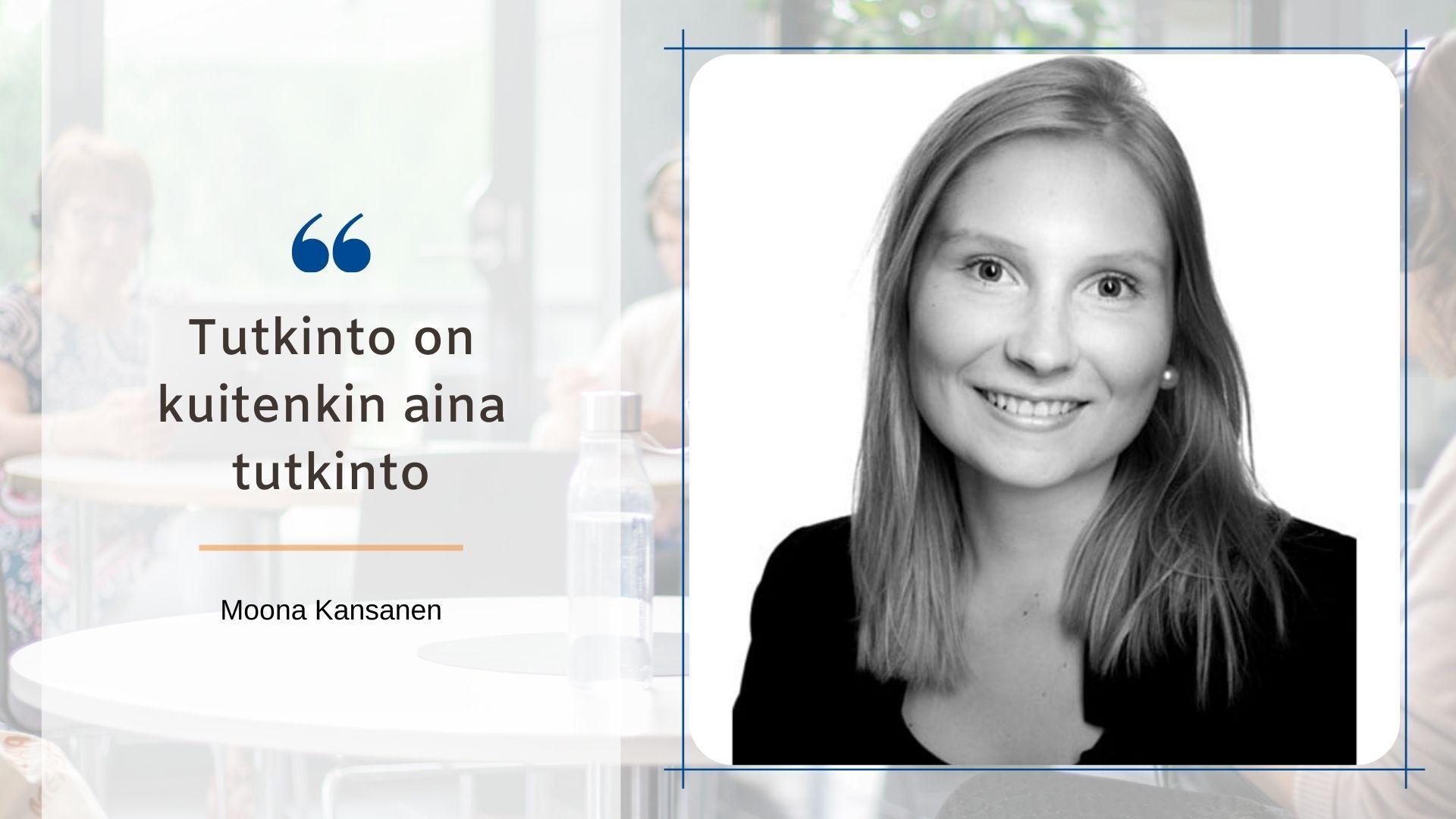 Moona Kansanen kirjoitti SYOblogissa opinnoistaan markkinoinnin asiantuntijakoulutuksessa.