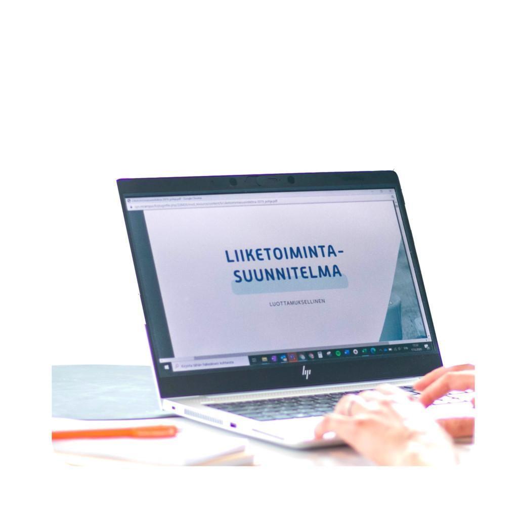 Liikeidean sparraus -verkkokurssi Suomen Yrittäjäopiston Koulutuskaupassa.