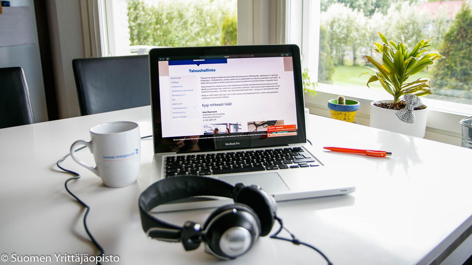 Taloushallinnon osaajaksi voit opiskella joustavasti verkossa.