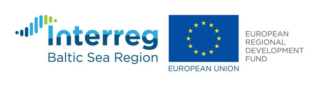 Interreg Baltic Sea Region -ohjelman logo.