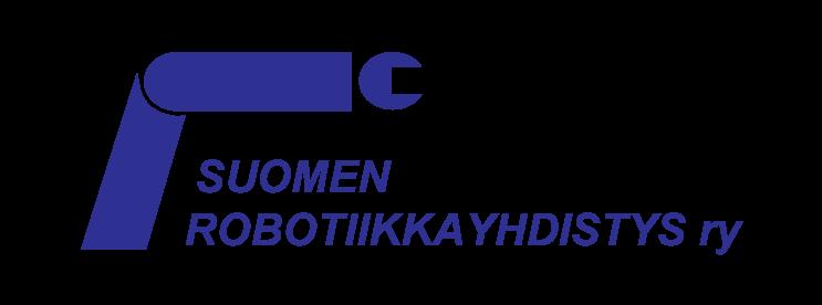 Suomen Robotiikkayhdistys ry:n logo.