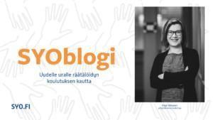 SYOblogi, Uudelle uralle räätälöidyn koulutuksen kautta, Virpi Viitanen.
