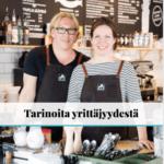 Tarinoita yrittäjyydestä: maahanmuuttajayrittäjien tarinoita, Suomen Yrittäjäopisto.