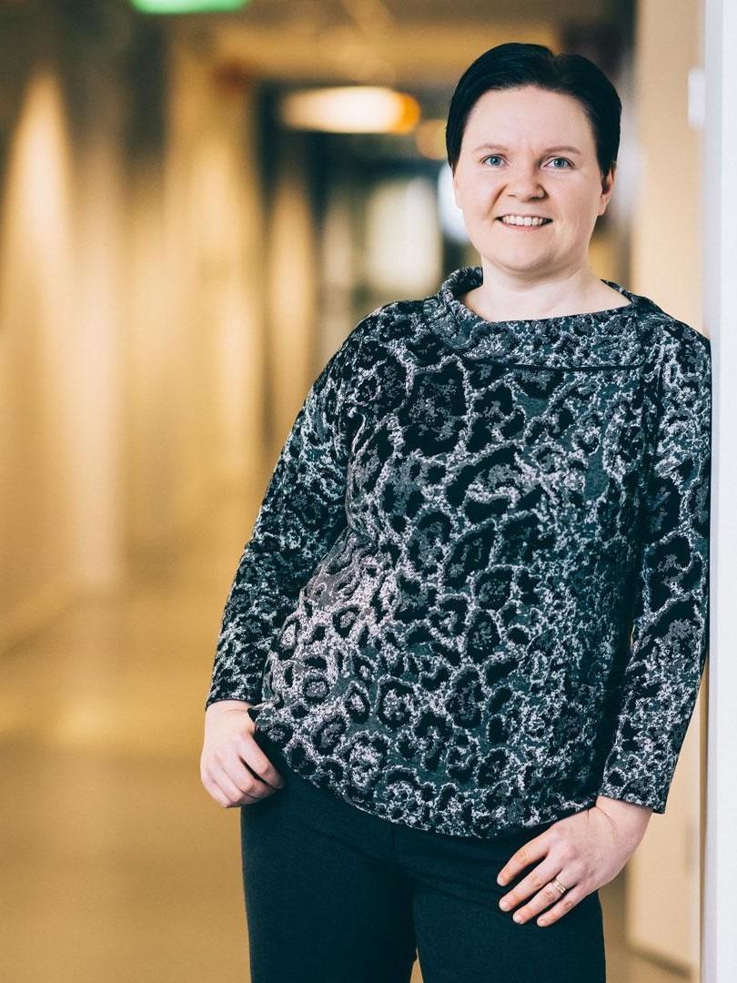 Maatilavalmentaja Jenni Koski