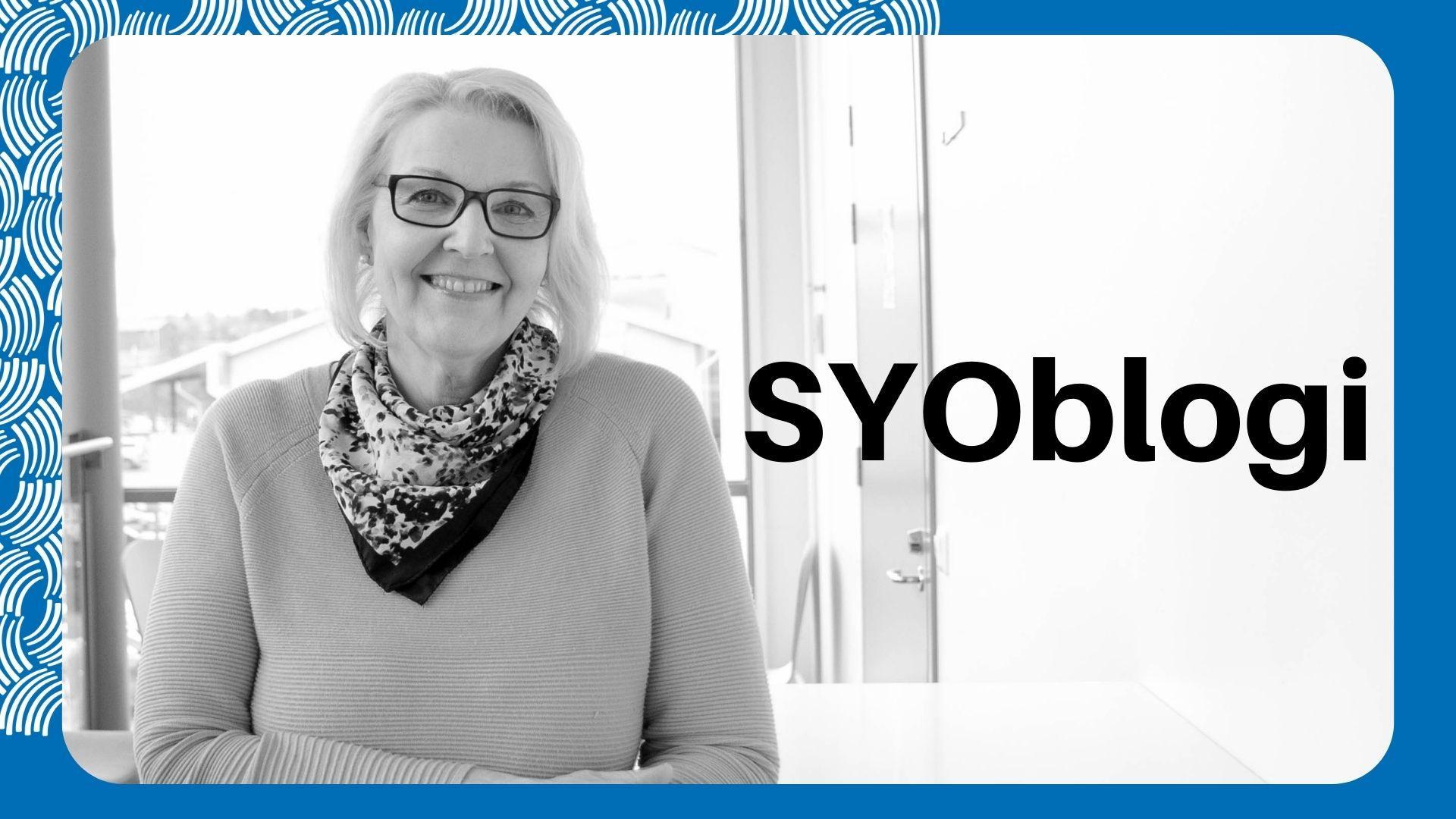 Lea Puotinen kirjoittaa SYOblogissa arjen digitaidoista