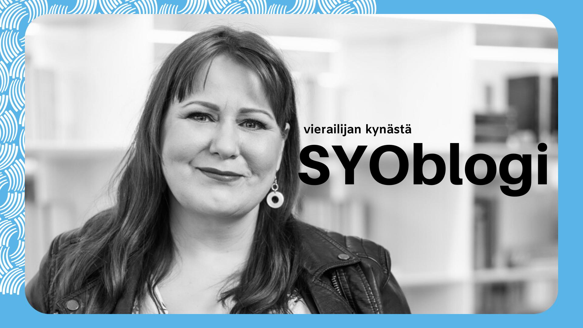 SYOblogi, futuristi Elina Hiltunen.