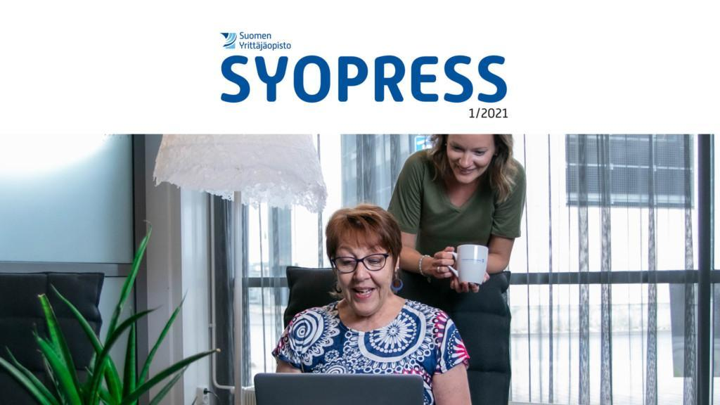SYOpress-lehti 1/2021.