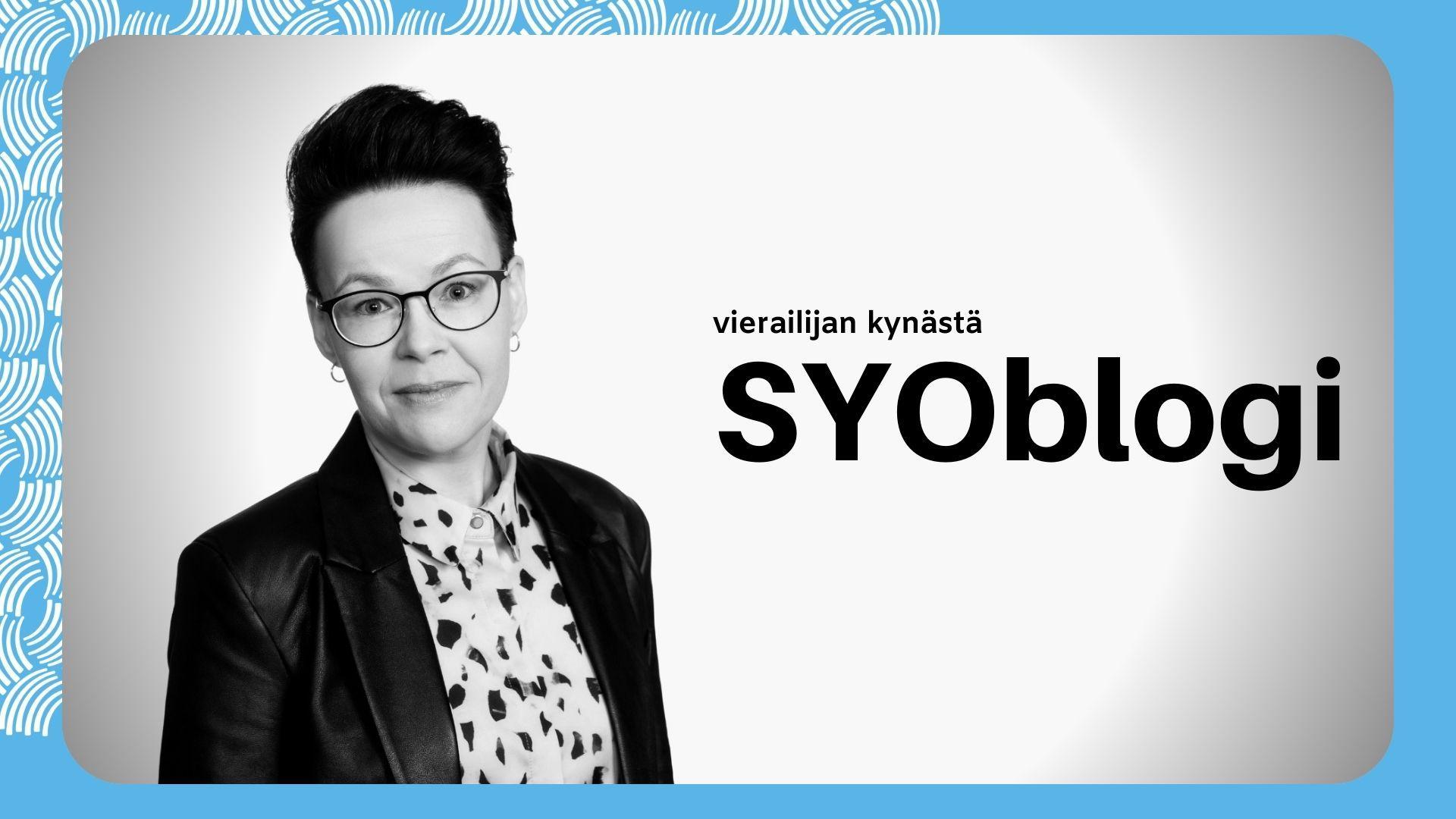Yritysasiamies ja työllisyyskoordinaattori Marja-Leena Hämäläinen kirjoitti kokemuksiaan yrityneuvojakoulutuksesta SYOblogiin