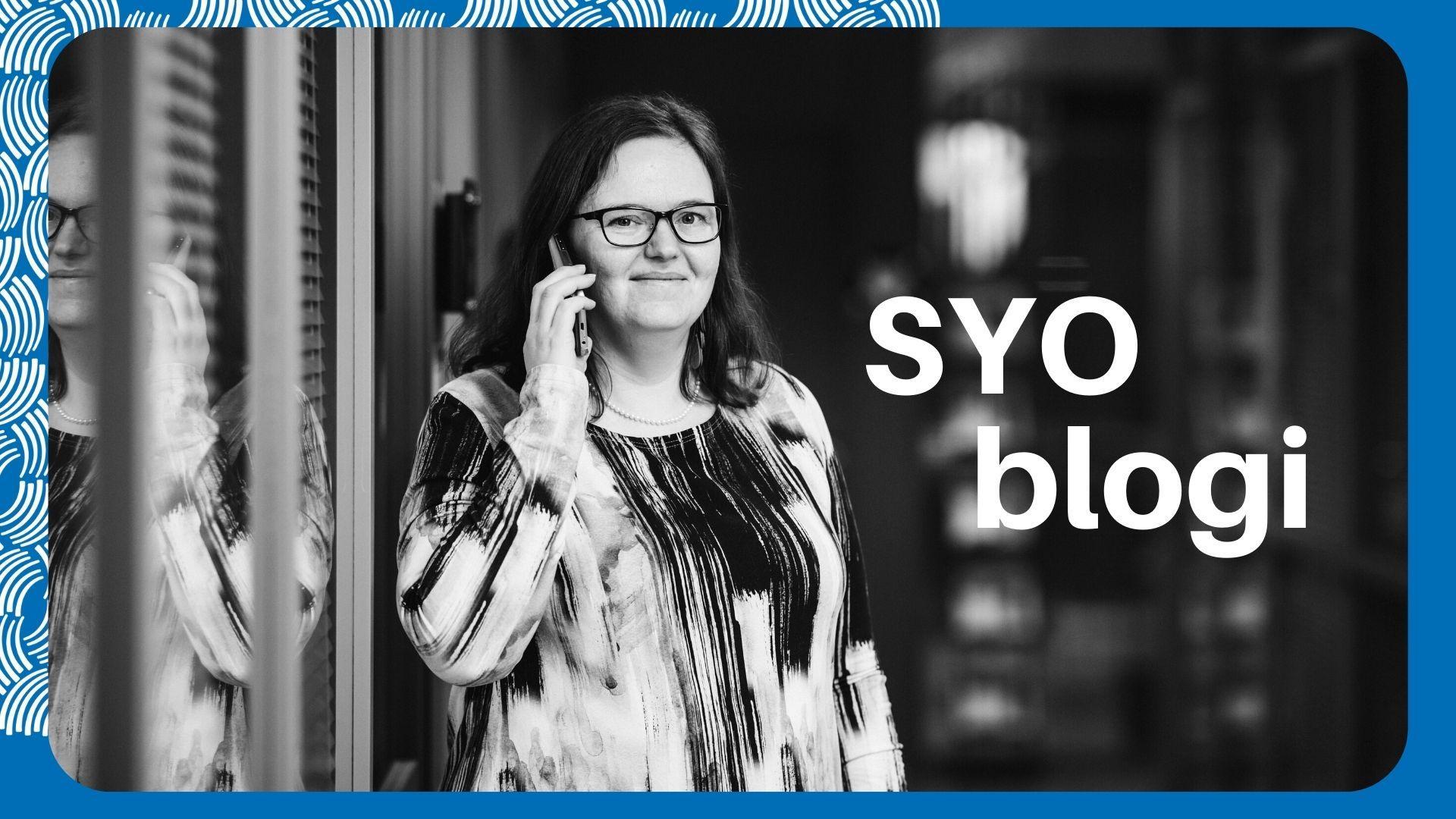 Susanna Kulmala kirjoittaa SYOblogissa asiakasraatitoiminnasta.