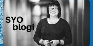 Yritystoiminnan kouluttaja Minna Rintamäki kirjoittaa SYOblogissa.